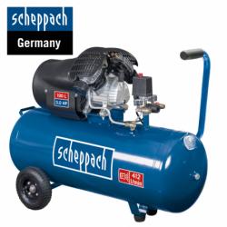 Twin cylinder compressor HC100DC / Scheppach 5906120901 / 100 L