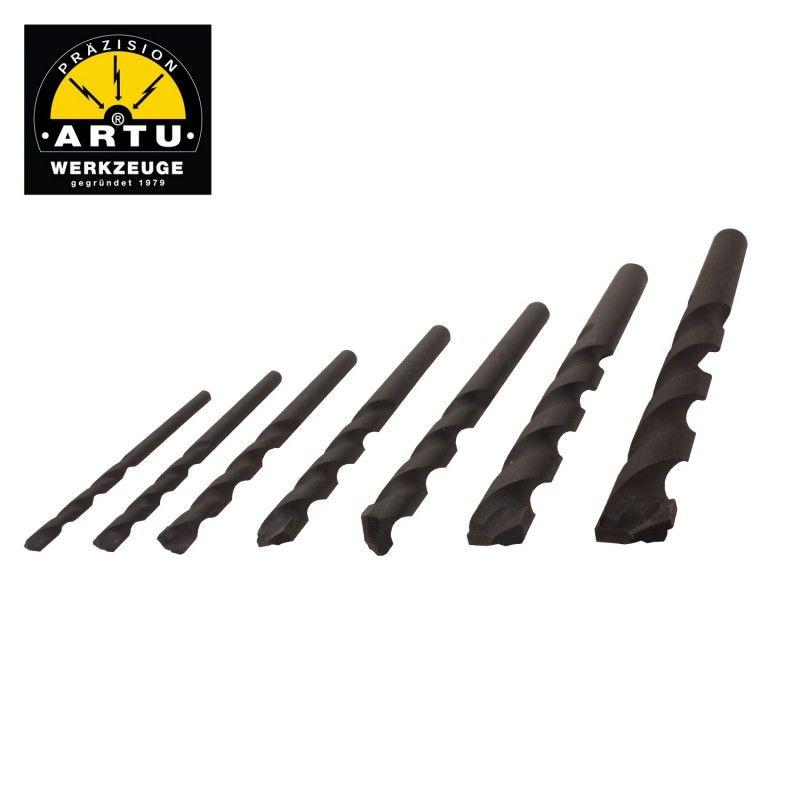 Комплект универсални свредла в пластмасова кутия 7 части  / ARTU