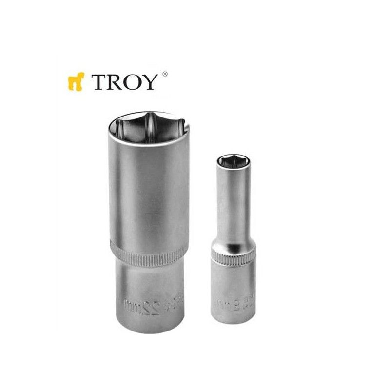 "Socket 1/2"" 10mm, Ø14,5mm  / Troy 26110 /"