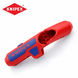 Инструмент за оголване на кабели / KNIPEX 169501SB /
