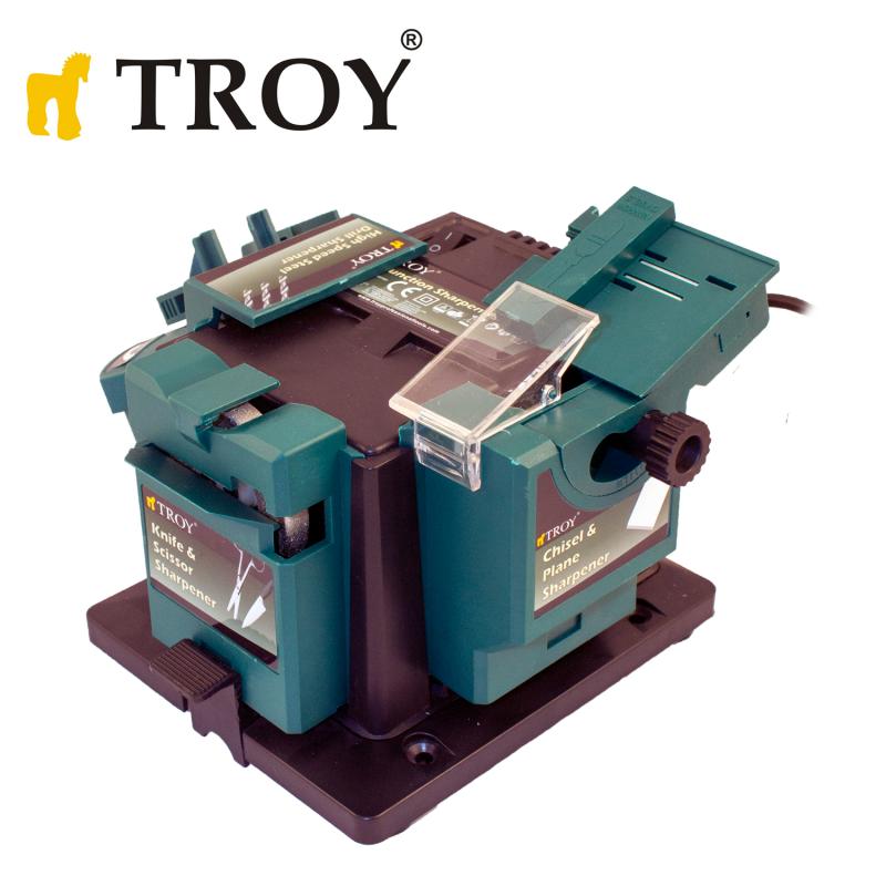 Универсална машина за заточване на инструменти / Troy 17056 / 96W