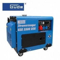 Електрогенератор GSE 5500 DSG / GÜDE 40586 /