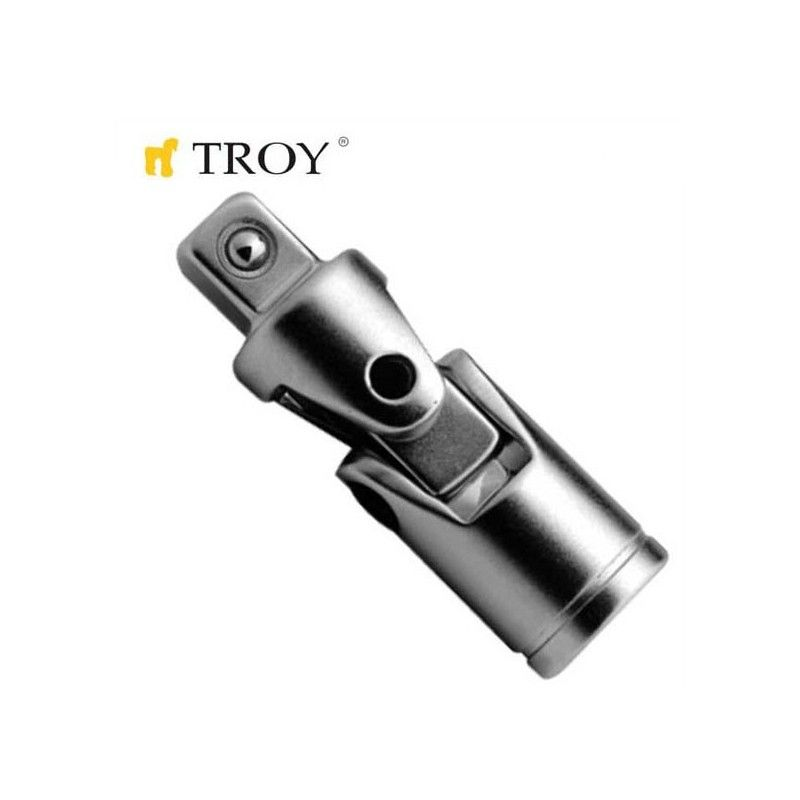 "Universal Joint 1/4"", L38mm  / Troy 26127 /"