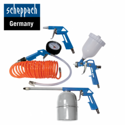 Pneumatic kit of 5 parts / Scheppach 3906101704 /
