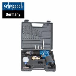 Комплект пневматична бормашина / Scheppach 7906100714 /