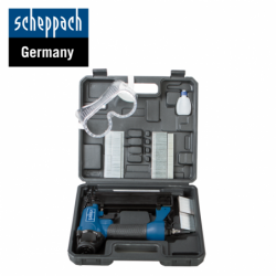 Air nail gun kit 15 - 50 mm / 16 - 40 mm / Scheppach 7906100715 /