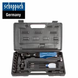 """Pneumatic ratchet with sockets 1/2"""" / Scheppach 7906100718 /"""