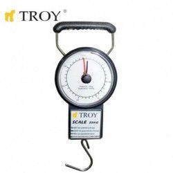 Ръчно кантарче с ролетка  22 kg / Troy 90022 /