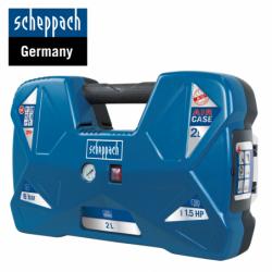 Компресор AIRCASE / Scheppach 5906118901 / 2 Л, 8 bar