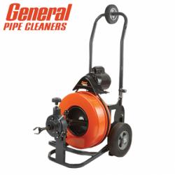 Електрическа машина за почистване на канали Metro Power Drain P-ME-A-S / General pipe cleaners 104840 /