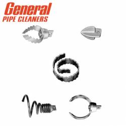 Комплект накрайници за чистач на канали 5 части SRCS-R / General pipe cleaners 130080 /