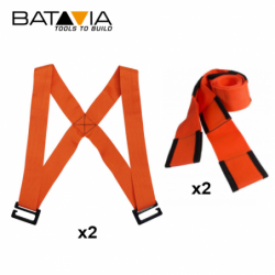 Moving harness set -2 harnesses and pair lifting straps / BATAVIA 7062129 /
