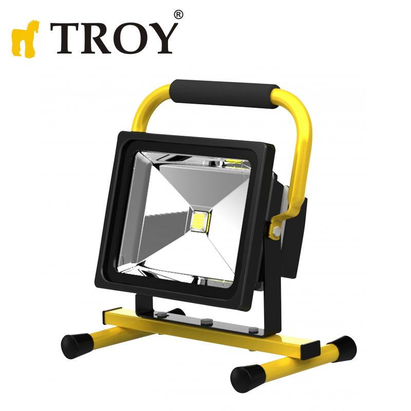 COB LED Прожектор със стойка, 30 W  / Troy 28003 /
