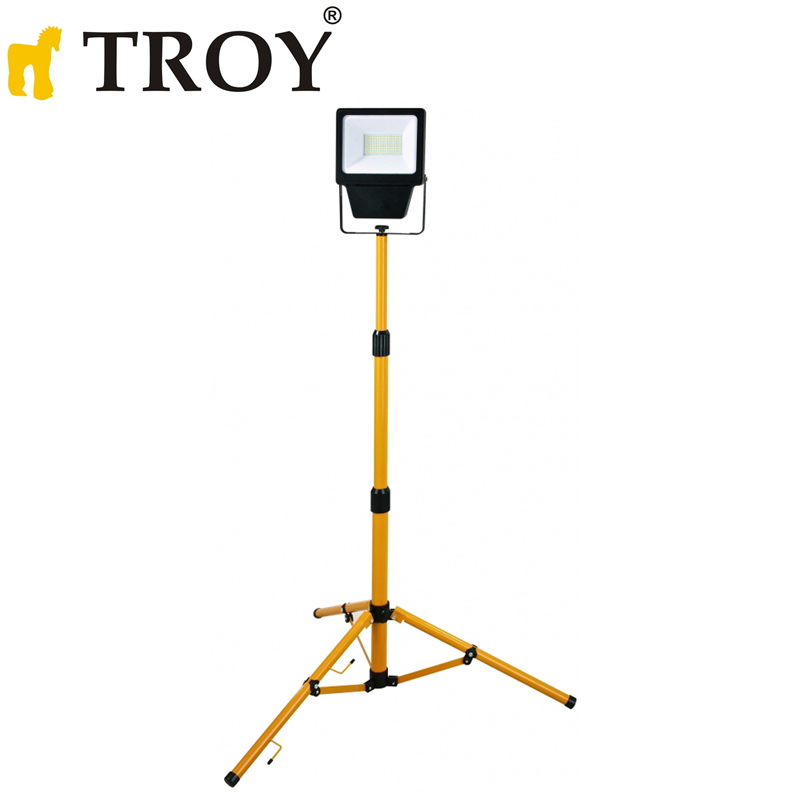LED Searchlight on Tripod 50W / Troy 28005 /