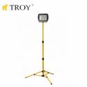 COB LED Прожектор с телескопична стойка, 80 W TROY - 1