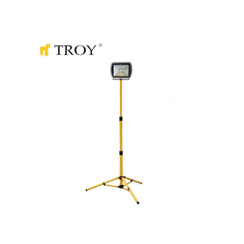 COB LED Прожектор с телескопична стойка, 80 W / Troy 28008 /