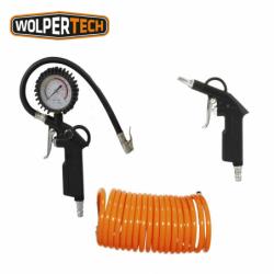 Комплект пневматични инструменти, 3 части / WOLPERTECH 04000 /