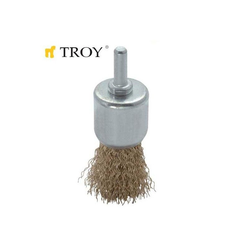 Shank End Brush (12mm) TROY - 1