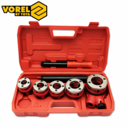 Pipe Threading Set 7pcs / VOREL 11292 /