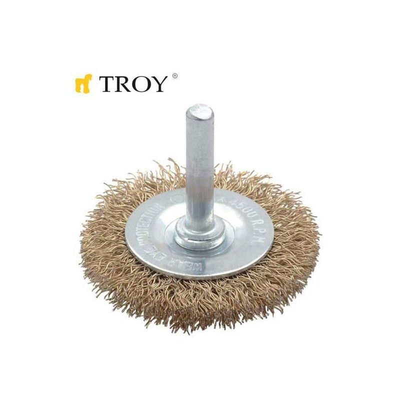 Shank Circular Brush 40mm TROY - 1
