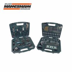 Комплект инструменти в куфарче 163 части / Mannesmann 29087 /