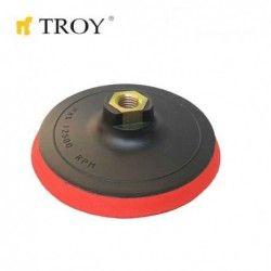 Пластмасов диск за шлайфане 115mm / Troy 27910 /