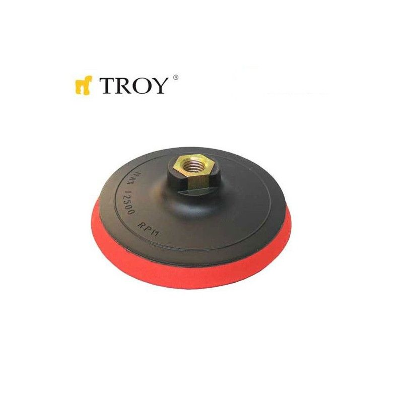 Sanding Pad with Velcro 115mm / Troy 27910 /