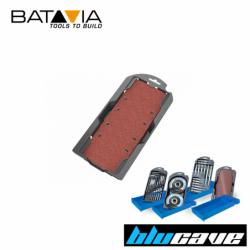 Асортимент шкурки за виброшлайф 12 броя / Batavia 7061220 / BLUCAVE