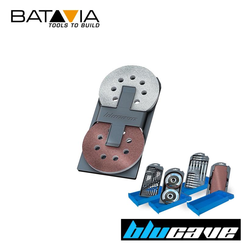 Асортимент шкурки за ексцентършлайф 12 броя / Batavia 7061223 / BLUCAVE