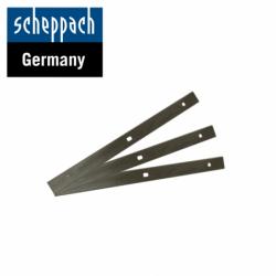 Нож за хобел машина PLANA 3.1C / Scheppach 3304200030 / 3 броя - двустранни