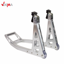 Aluminum front wheel motorcycle stand / DEMA 24195 /