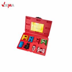 Camshaft locking set for easy change of the toothed belt / DEMA 17985 /