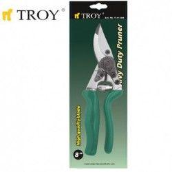 Ергономична Лозарска ножица 200mm / Troy 41203 / 1