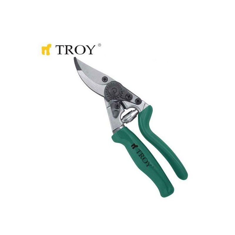 Ергономична Лозарска ножица 200mm / Troy 41203 /