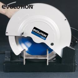Отрезна машина EVOSAW355 за рязане на стомана / EVOLUTION 080-0003A / 4