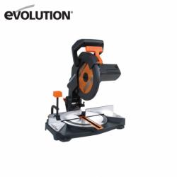 Универсален Циркуляр R210CMS EU / EVOLUTION 046-0003A / за рязане на стомана, цветни метали, дърво, пластмаса и ламинат