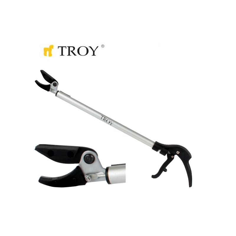 Ножица за цветя и тънки клонки / Troy 41205 /