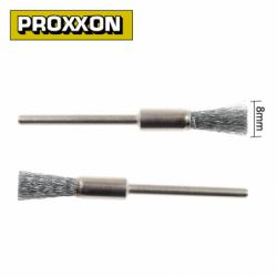 Комплект четки от неръждаема стомана 8мм 2броя / PROXXON 28955 /