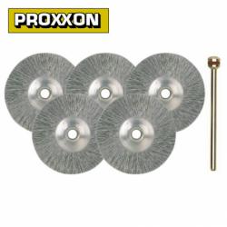 Комплект дискове от неръждаема стомана 22мм 5броя / PROXXON 28956 / 1