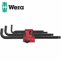 Комплект шестограмни ключове BlackLaser 9 бр.  / WERA 05022086001 /
