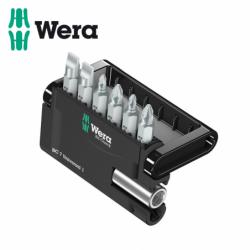 Комплект битове с държач в поставка - 7 части  / WERA 05056295001 /