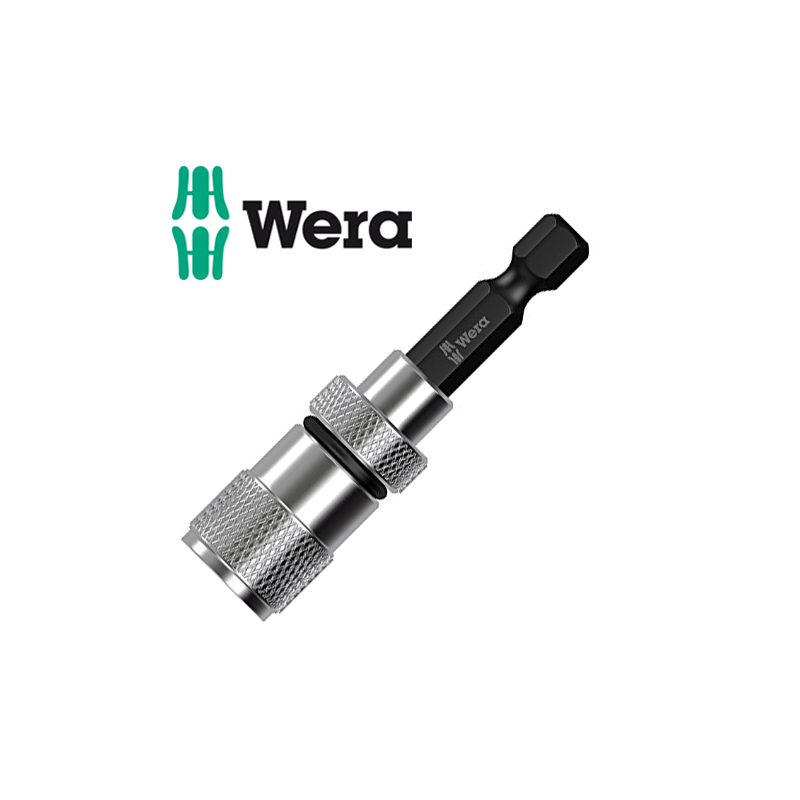 Държач за битове с регулируем стопер на дълбочината на захват на бита / WERA 05073210001 /