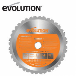 Evolution RAGE 185 mm Multipurpose Blade  / EVOLUTION RAGEBLADE185MULTI /