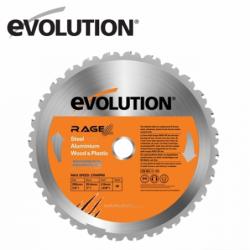 Evolution RAGE 255 mm Multipurpose Blade  / EVOLUTION RAGEBLADE255MULTI /
