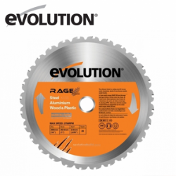 Evolution RAGE 255 mm Универсален диск / EVOLUTION RAGEBLADE255MULTI /