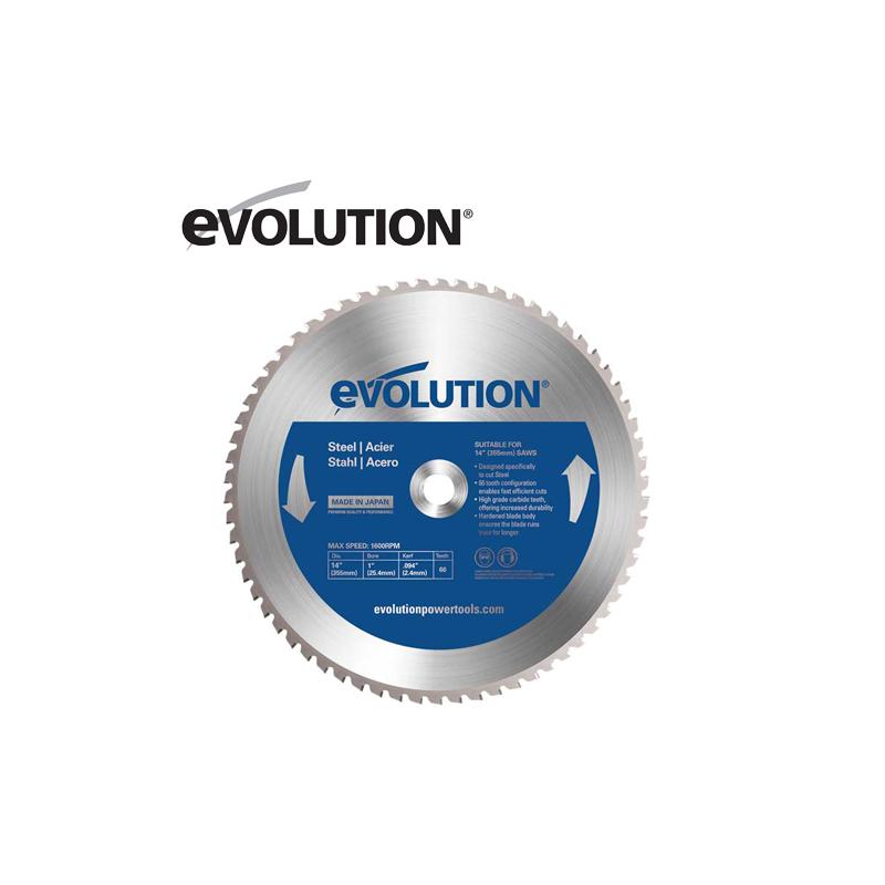Evolution 66TBlade 355мм диск за рязане на стомана / EVOLUTION 66TBLADE /