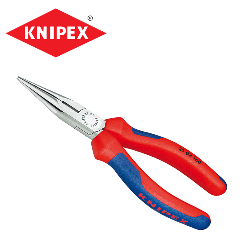 Snipe Nose Side Cutting Pliers Radio Pliers 140mm / KNIPEX 2502140