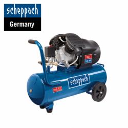 Двуцилиндров компресор HC52DC / Scheppach 5906101901 / 50 Л