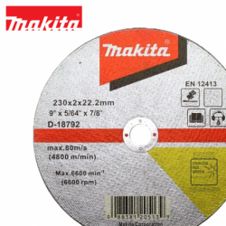 Spare cutting disk for stainless steel / Makita D-18792 / 230x2 mm