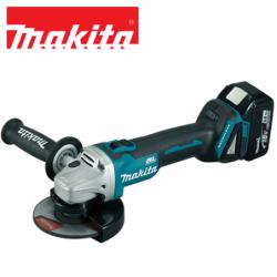 Cordless angle grinder 125 mm / Makita DGA504RFE / 18 V